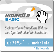 Webdesign Basic - Angebot EUR 799,-